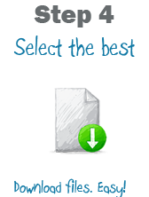 Step 4 Select the best