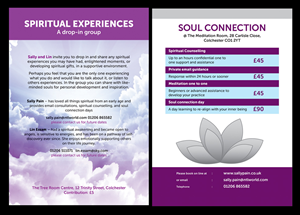 Flyer Design by rupakiran - Spiritual Support flyer design