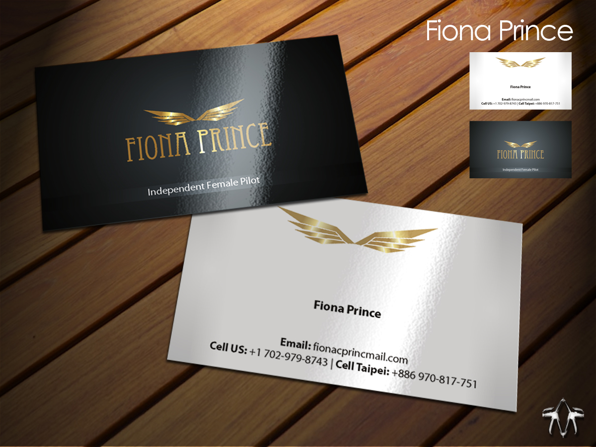 Bold, Modern, Airline Business Card Design for a Company by sadzip ...