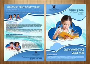 School brochure design quotes crowdsourced brochure for Brochure design quotation