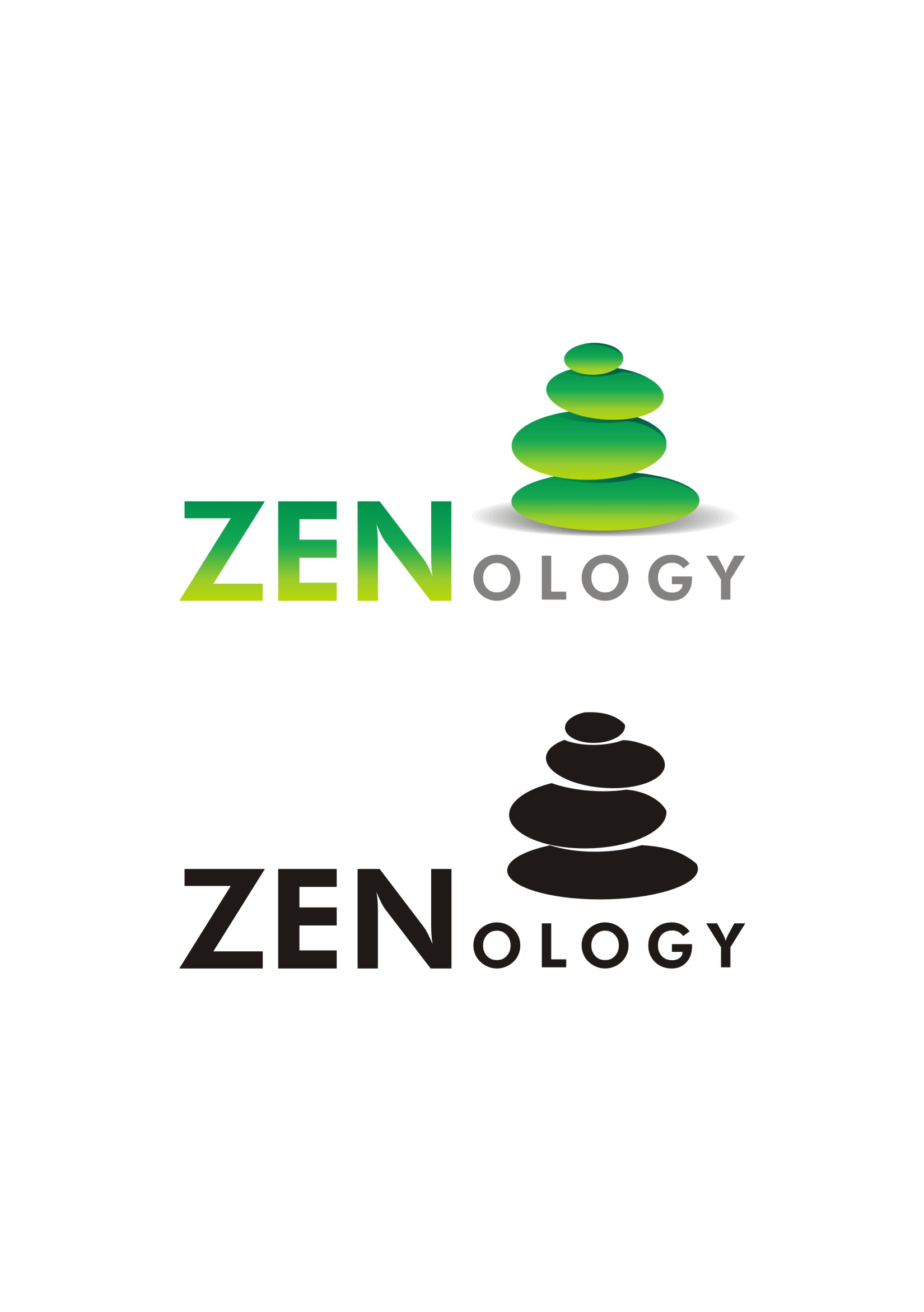 Logo Design by pixeljuice for ZENology logo - Design #7848