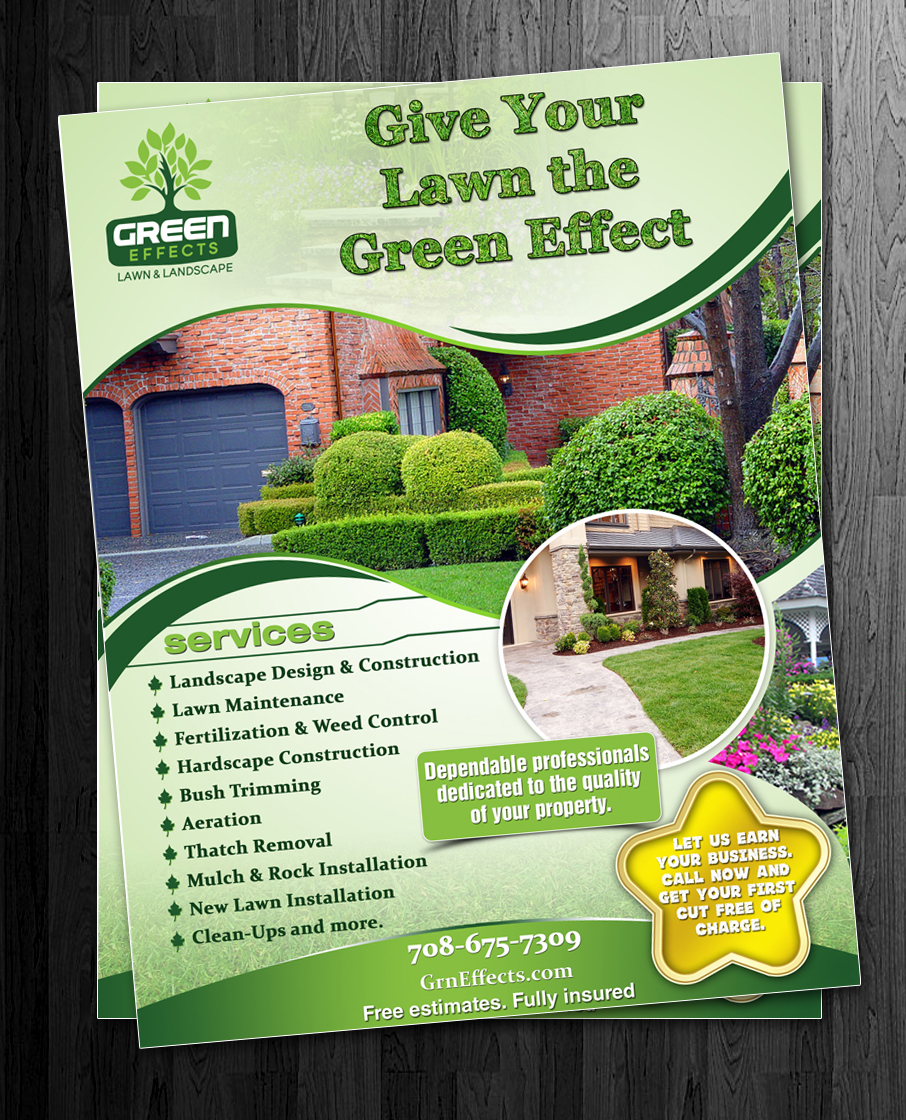 landscaping flyers info 26 elegant playful landscaping flyer designs for a landscaping