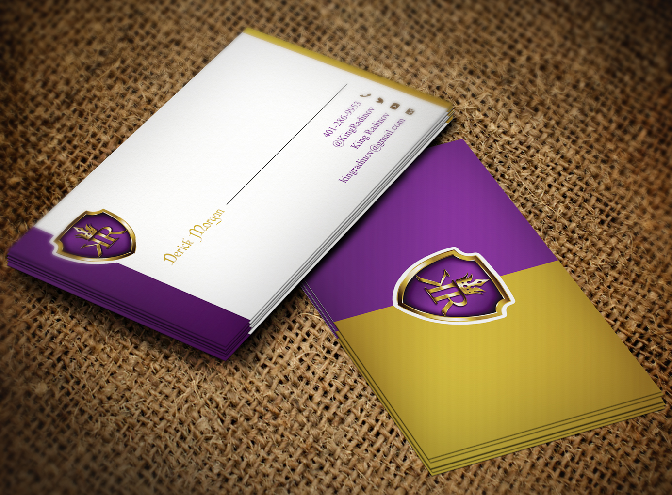 34 Modern Business Card Designs | Games Business Card Design Project ...