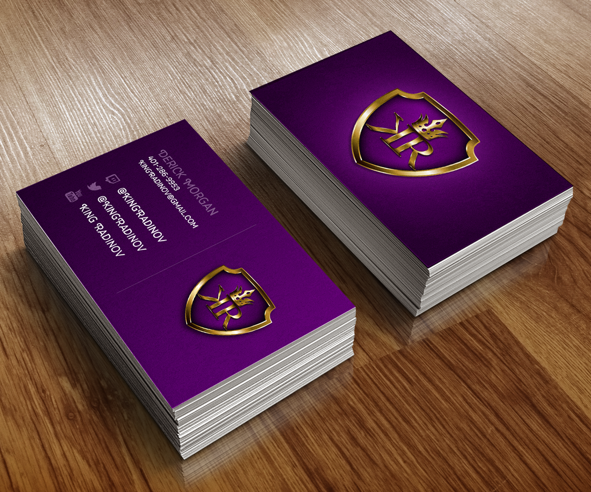 34 Modern Colorful Games Business Card Designs for a Games ...