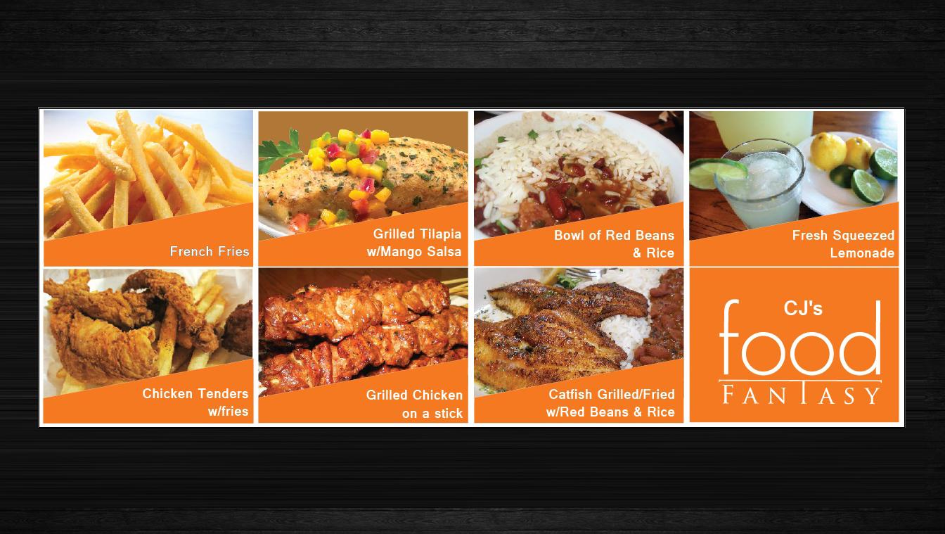 Bold, Modern Banner Ad Design for CJ''s Food Fantasy by uk ...