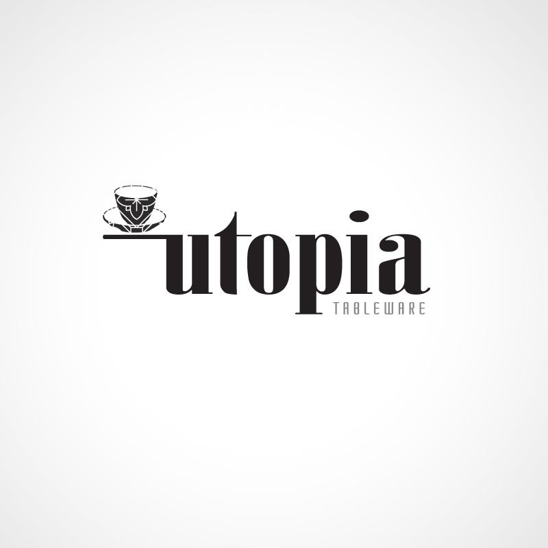 Logo Design by JACQUI for Utopia Tableware Ltd.   Design #289215 & Modern Professional Hospitality Logo Design for Utopia by JACQUI ...
