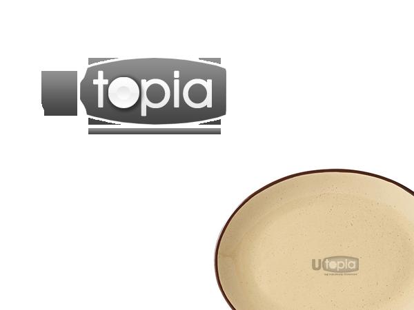 Logo Design by HexSeven Designs for Utopia Tableware Ltd.   Design #285496  sc 1 st  DesignCrowd & Modern Professional Hospitality Logo Design for Utopia by HexSeven ...
