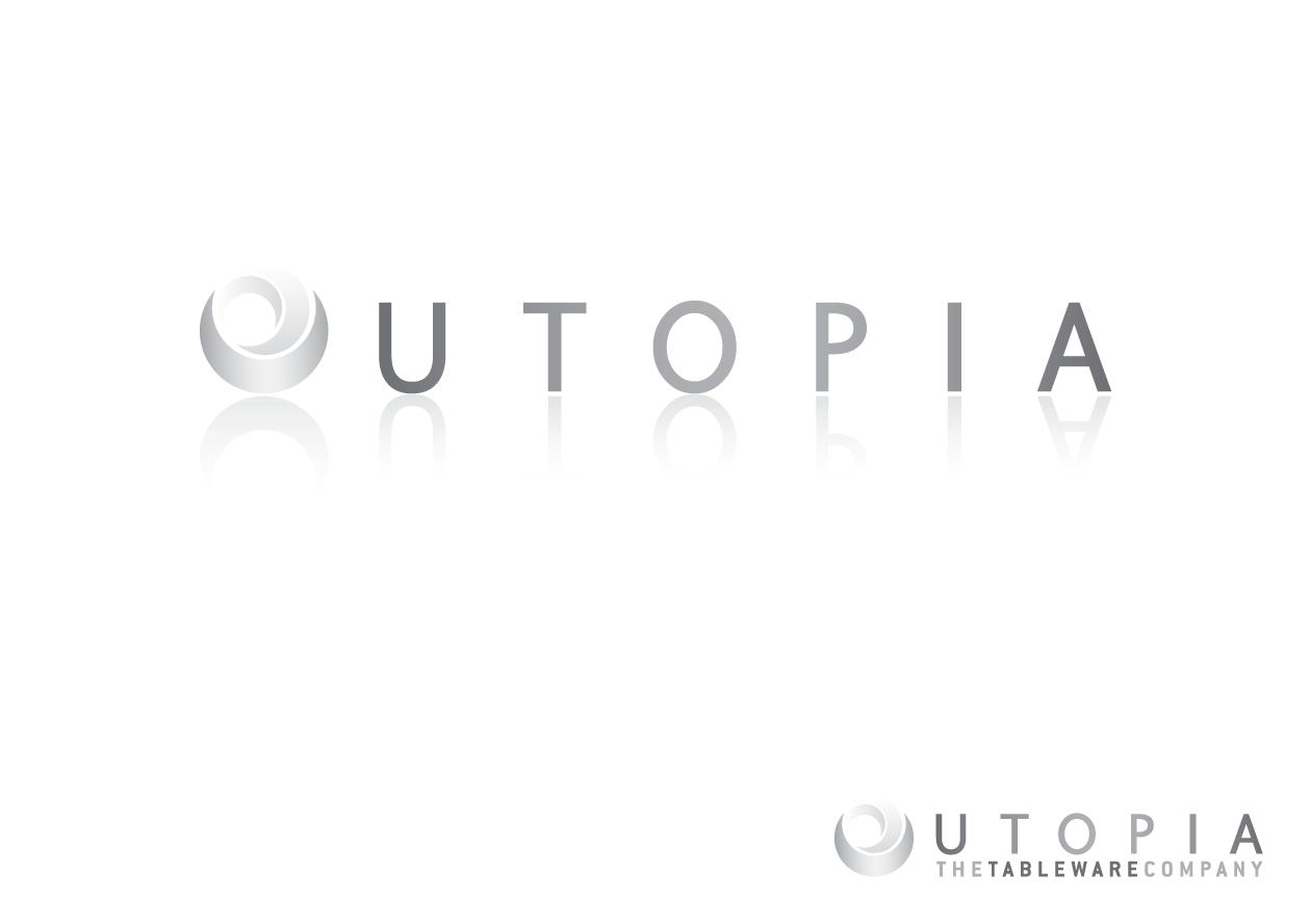 Logo Design By Taylor Design For Re-Branding Logo For Utopia UK Based Tableware Sc 1 St DesignCrowd  sc 1 st  pezcame.com & Tableware Company Uk \u0026 English Tableware Company Artisan Hare Milk ...