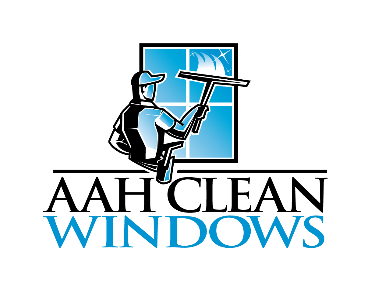 elegant playful window cleaning logo design for aah clean windows rh designcrowd com window cleaning logos illustrator window cleaning logo ideas