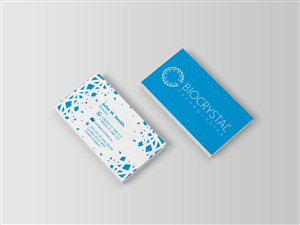 Business Card Design by isabel paoli for Biocrystal technologies  | Design #5532861