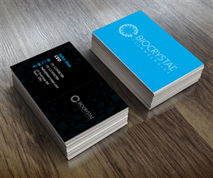 Business Card Design by tapstudio for Biocrystal technologies  | Design #5546140