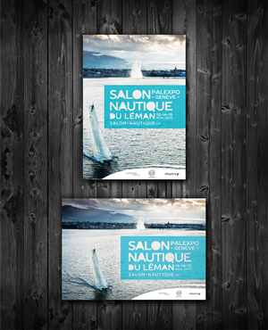 Poster Design by Epka Design - Poster for a boatshow for Nautical enthusiasts,...
