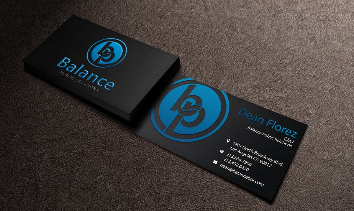 Bold, Playful, Business Business Card Design for My Own Company by ...