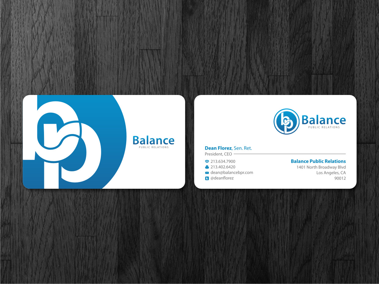 Bold, Playful Business Card Design for My Own Company by Atvento ...