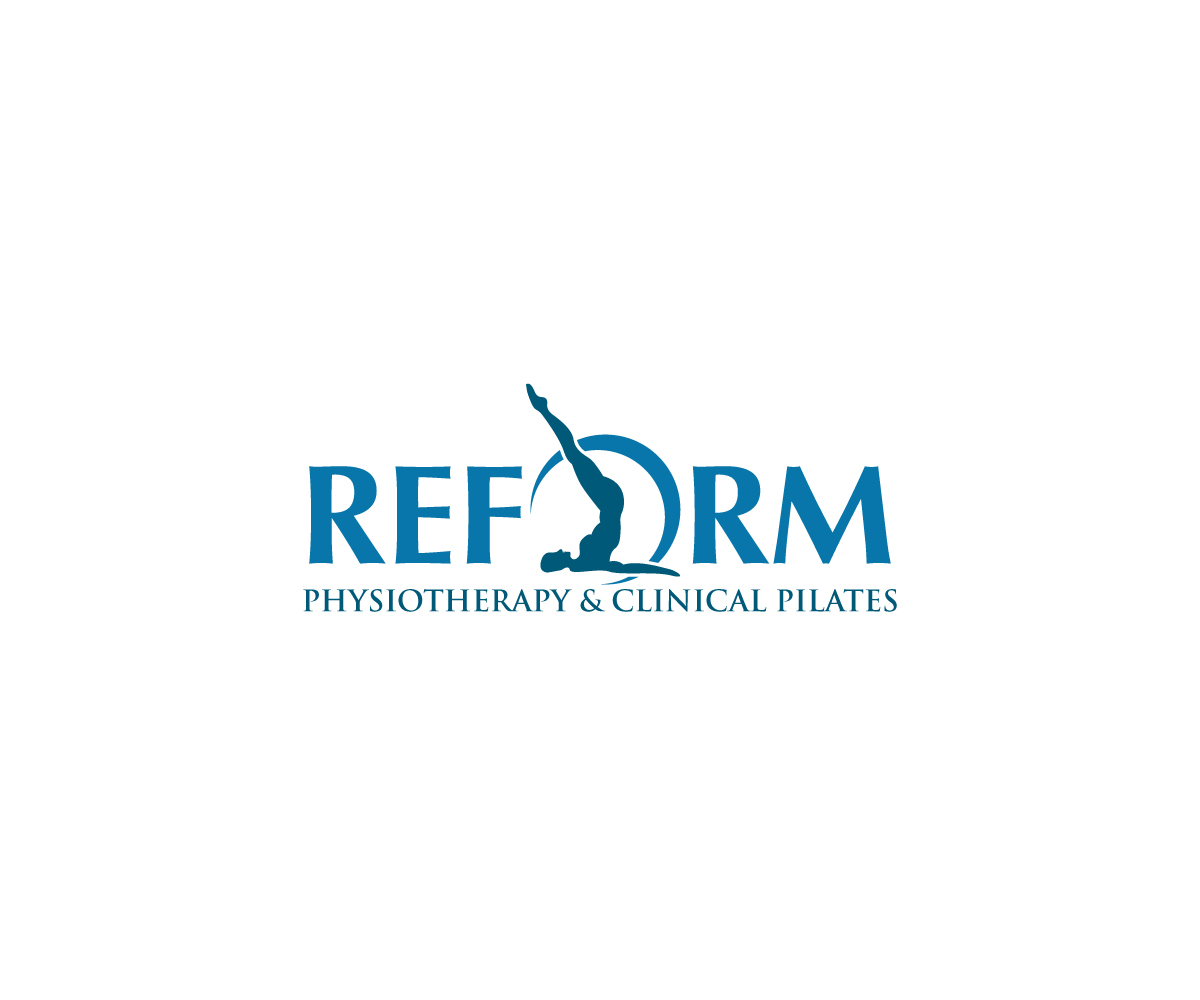 modern upmarket physical therapy logo design for reform