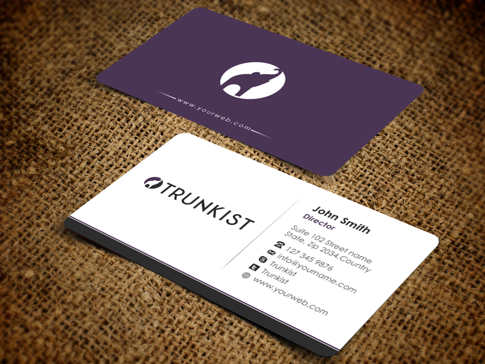 Upmarket, Modern Business Card Design for Trunkist by ...