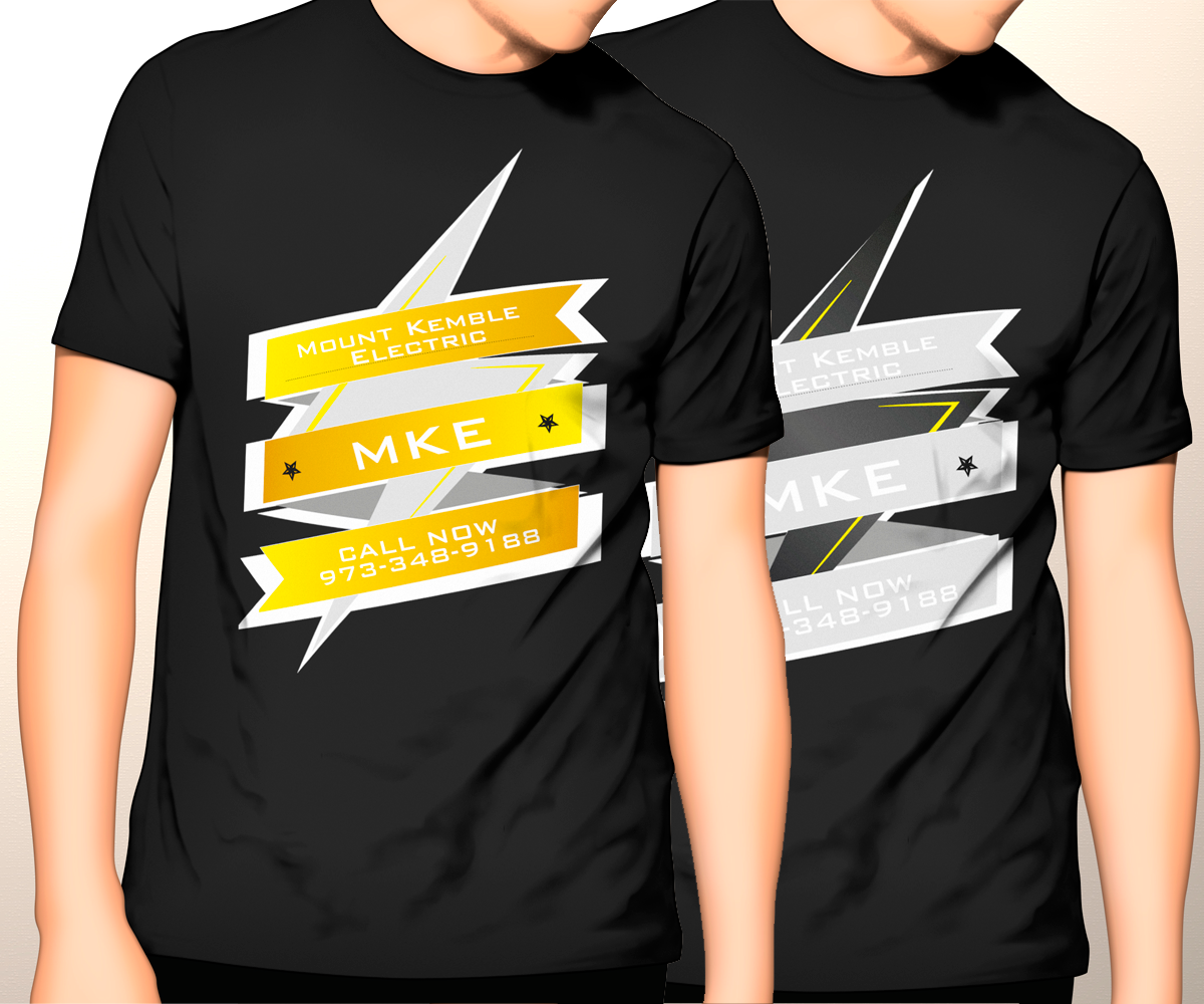 Feminine Professional Electrical T Shirt Design For A Company In United States
