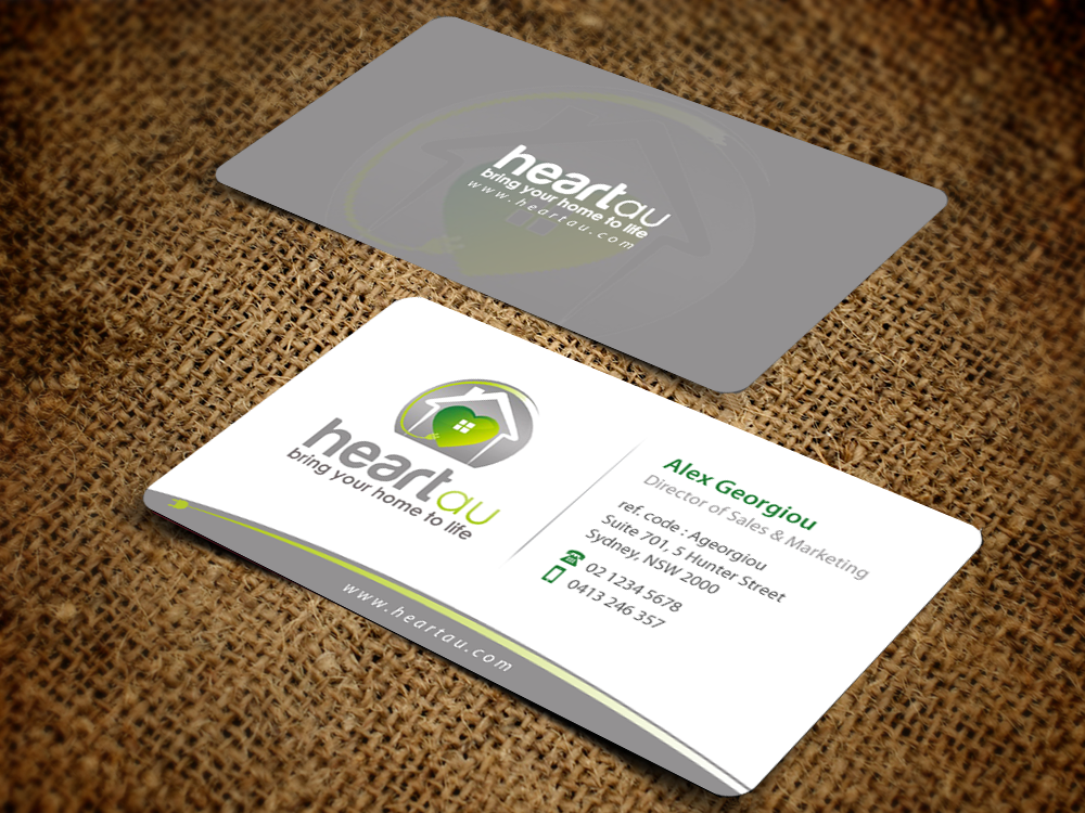 126 Modern Business Card Designs | Residential Business Card Design ...