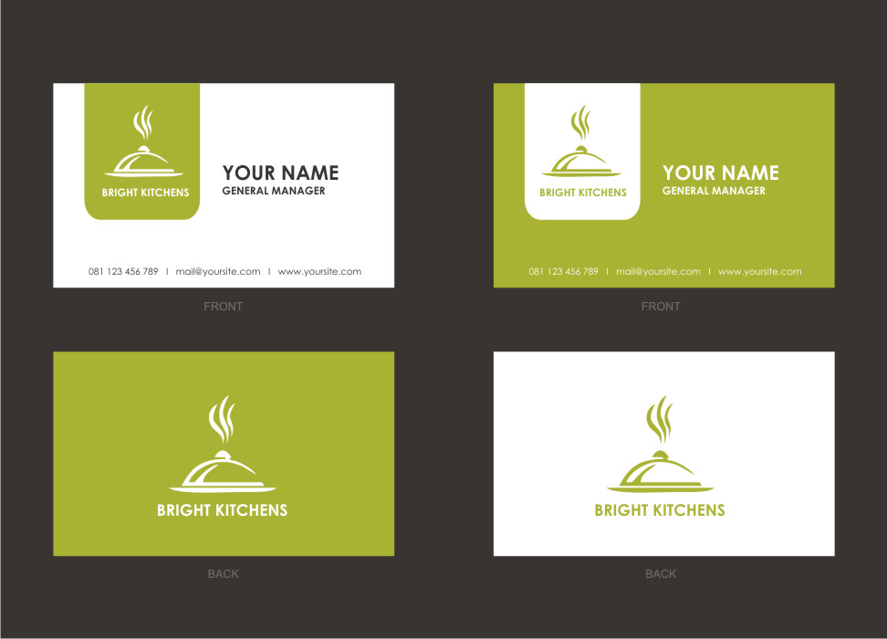 kitchen design business cards 41 professional business card designs for a business in 855