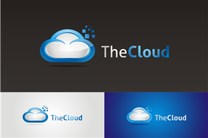 Logo Design job – TheCloud Rebrand – Winning design by novita007
