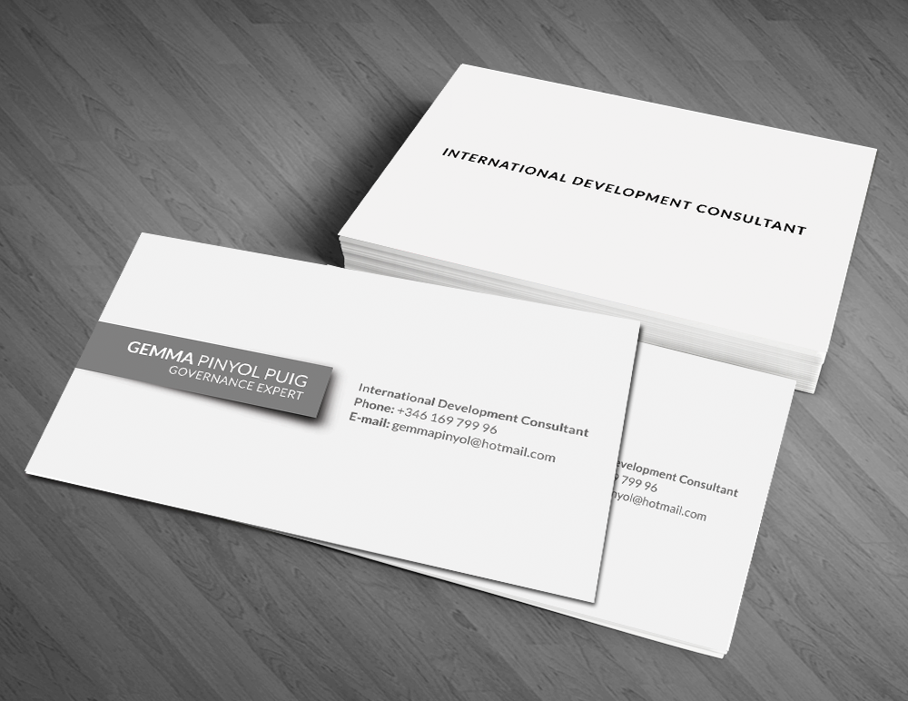 Bold, Playful, Business Business Card Design for a Company by Artman ...