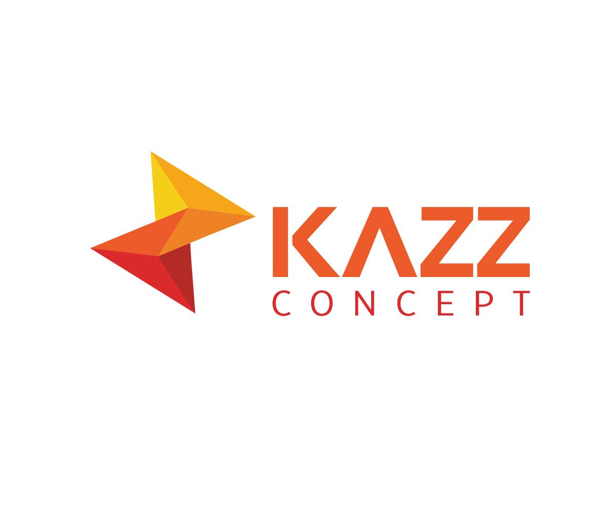Kazz Concept Logo Design by dbdesignsolutions