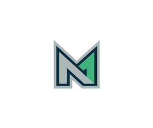 max or mn or mkn logo design by