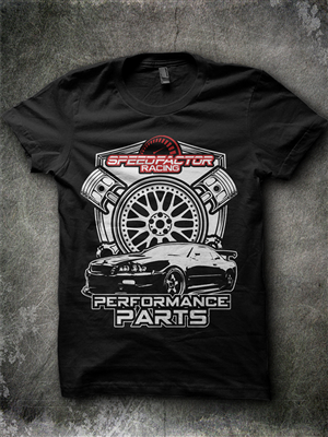 Racing T Shirt Design Ideas haga racing hemi powered pro modified hyundai single car drag racing t shirt design Masculine Upmarket T Shirt Design By Jonya