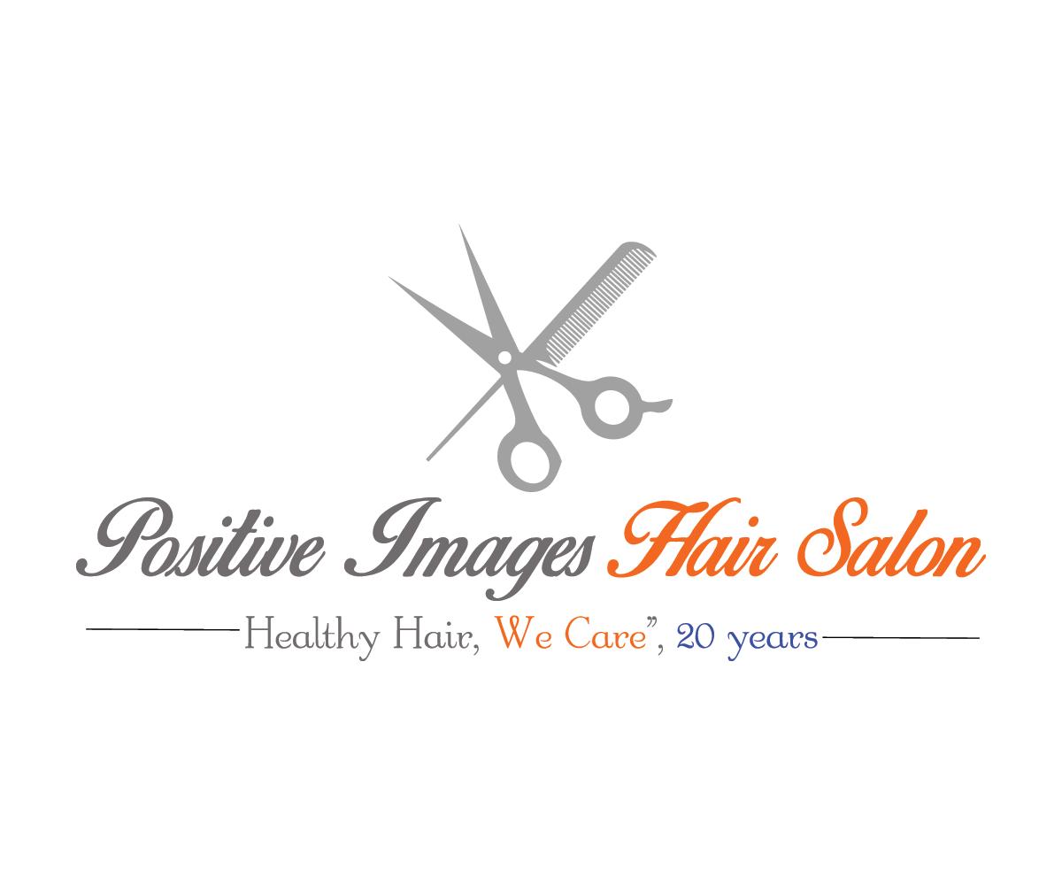 salon logo design for positive images hair salon quothealthy