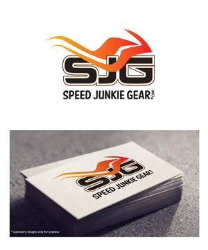 Bold, Masculine, E-Commerce Logo Design for Speed Junkie