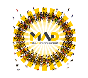 Illustration Design by Mila@CreativeMotions - Make a Difference Project