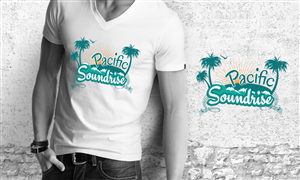 T-shirt Design by Ena - Reggae/Rockers Pacific Soundrise need a chill s ...