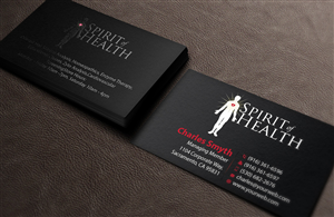 Bold, Playful, Health Business Card Design for a Company by