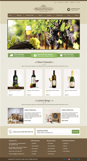 BigCommerce Design by webxvision for Addison Feen Insight, Inc. | Design: #6143605