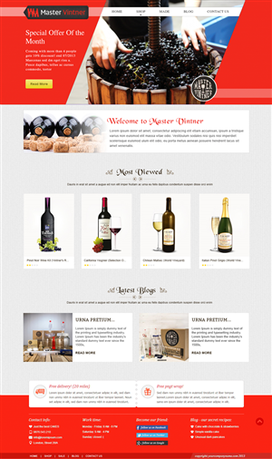 BigCommerce Design by webxvision for Addison Feen Insight, Inc. | Design: #6154354
