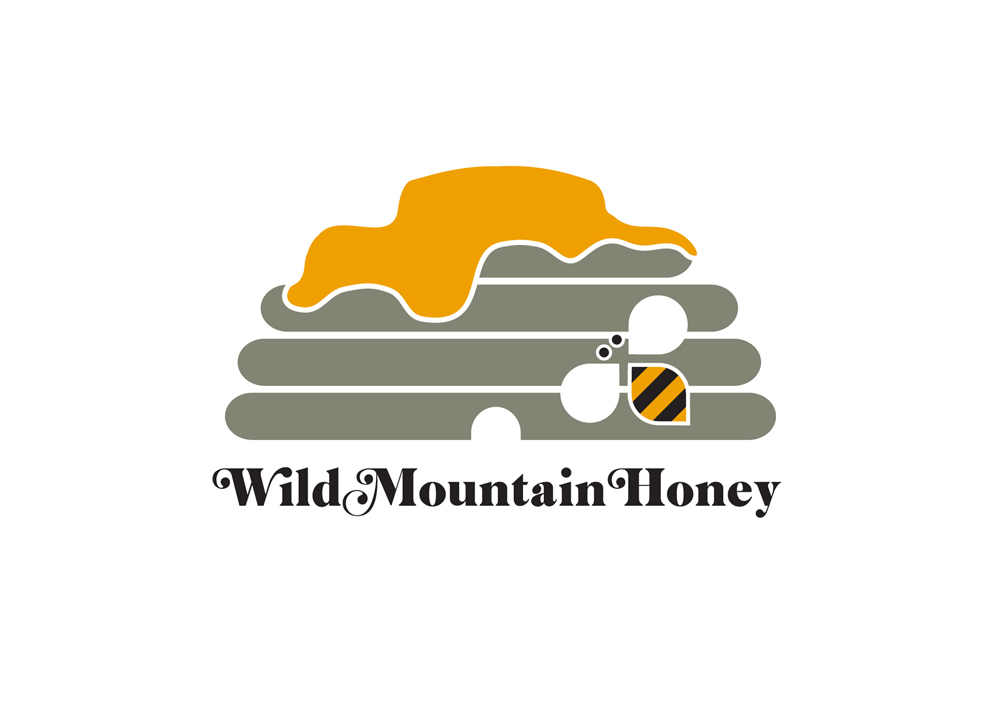 Colorful, Playful, Games Logo Design for Wild Mountain Honey