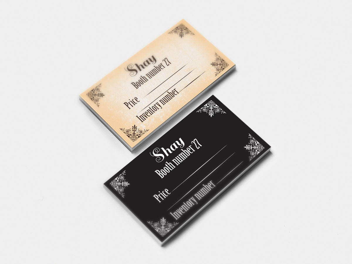 Elegant, Playful, Business Business Card Design for Shay by iwona ...