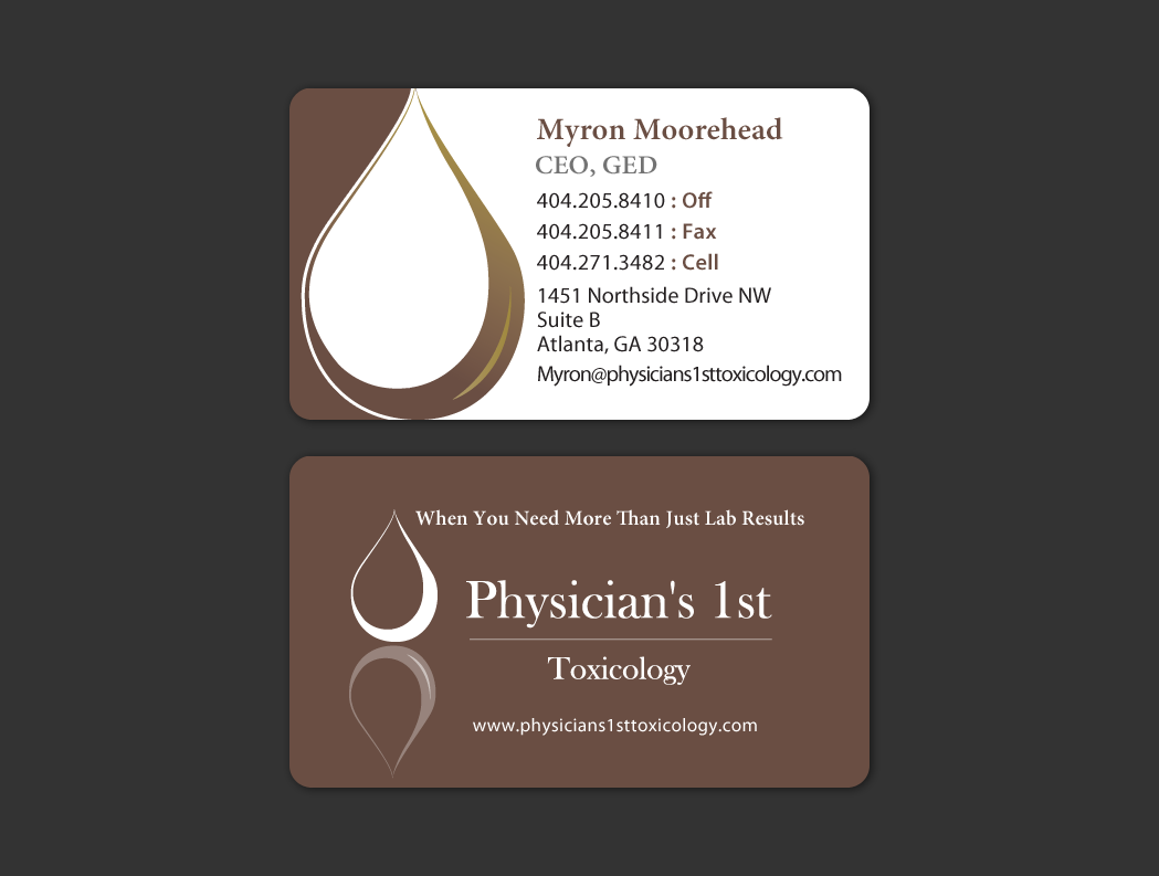 Modern, Bold Business Card Design for Pro Care Counseling by ...
