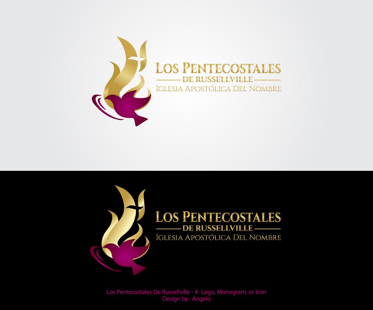 bold serious printing logo design for los pentecostales