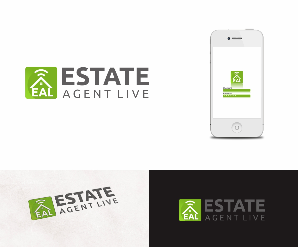 Modern bold logo design for kerrin delbridge by b8 for Real estate design software