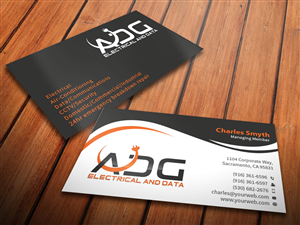 113 serious business card designs electrical business card design business card design by mediaproductionart for this project design 5603144 colourmoves