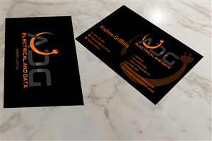 179 serious modern electrical business card designs for a