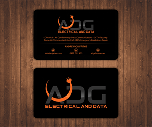 Electrical business card designs 481 electrical business cards to electrical contractor business card for professional modern company business card design by stylez designz reheart Choice Image