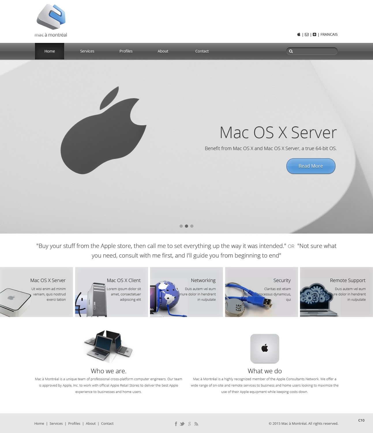 Elegant Modern Business Web Design For Mac A Montreal By Pb Design 5609333