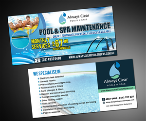 pool service flyers. Pool Services Flyer Promote Regular Pool Services | Design By MDesigns Service Flyers E