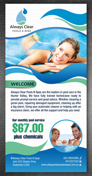 pool service flyers. Pool Service Flyers. More Flyer Entries From This Contest  Flyers N