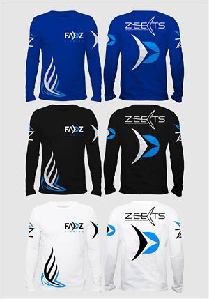 T-shirt Design by Khumi Shan - ZEETS commercial advert t-shirt design Project