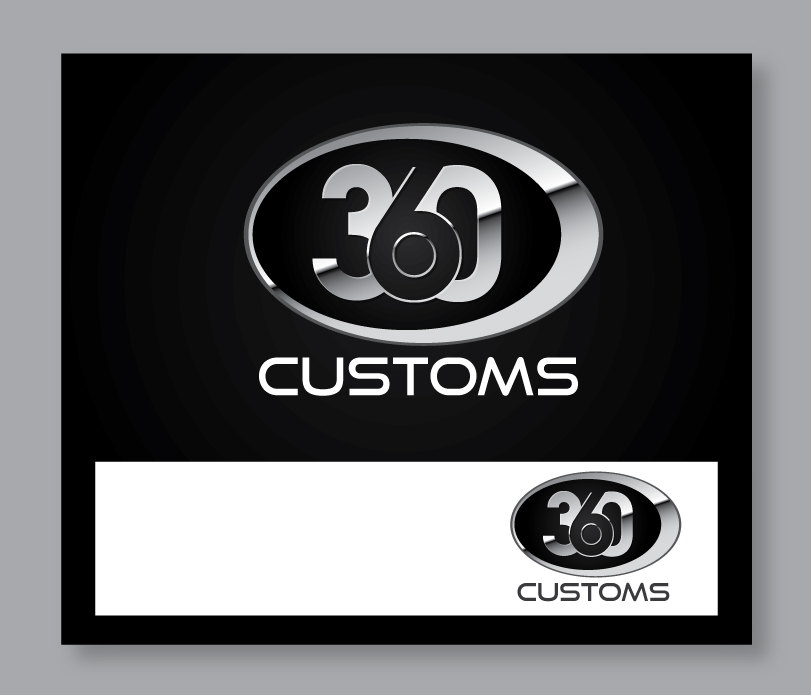 Bold Masculine Shop Logo Design For 306 Customs By Logo4smita