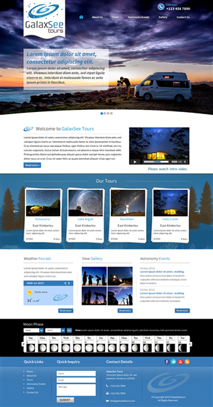 Web Design by Smart - GalaxSee Tours - Astronomy in the Kimberley