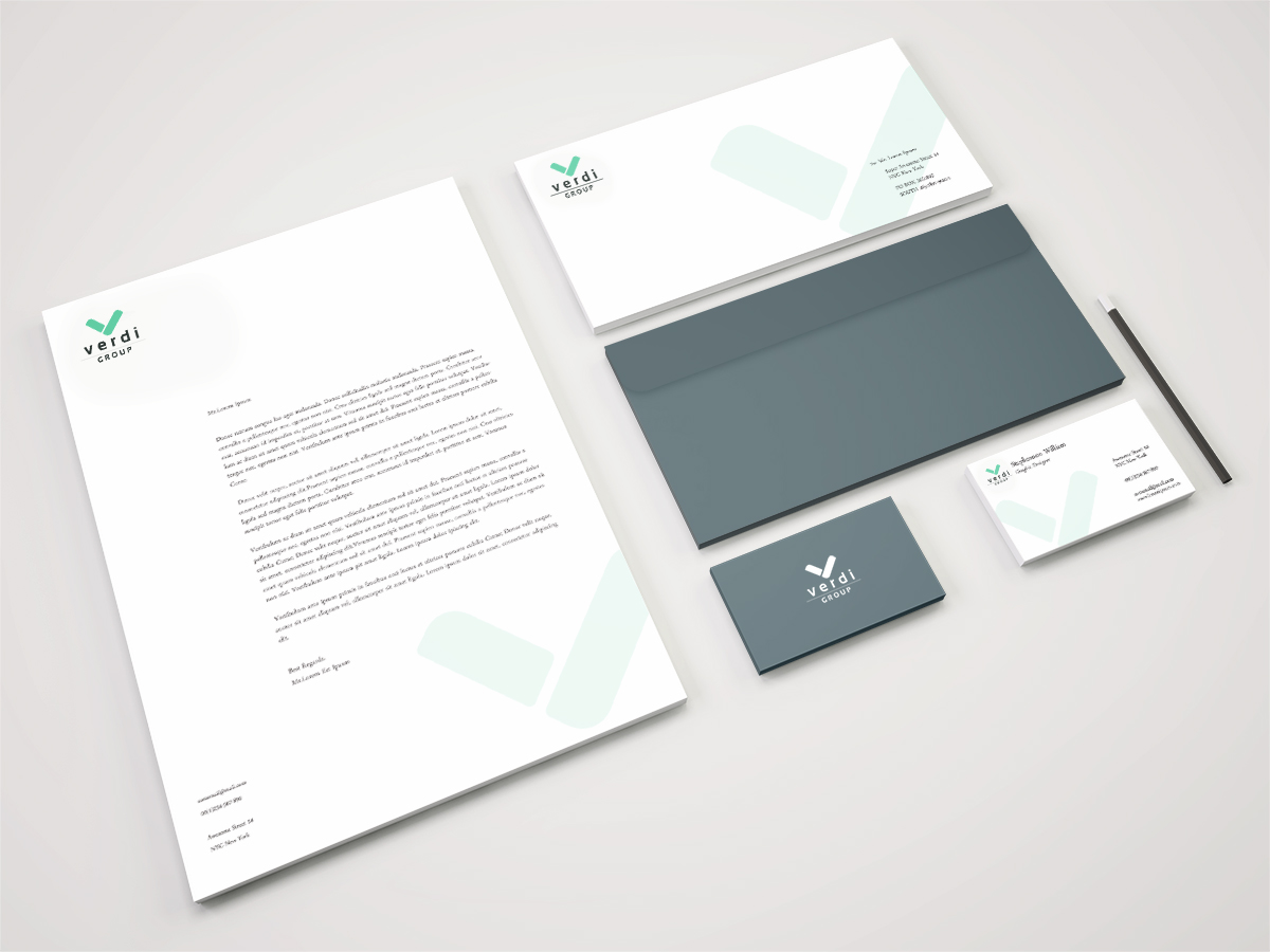 18 Modern Stationery Designs   Business Stationery Design Project ...